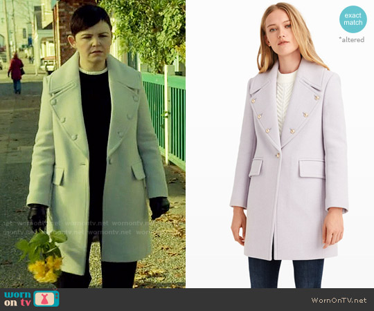 Club Monaco Sogand Coat worn by Ginnifer Goodwin on OUAT
