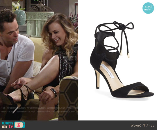 Diane von Furstenberg Rimini Sandals worn by Phyllis Newman on The Young & the Restless