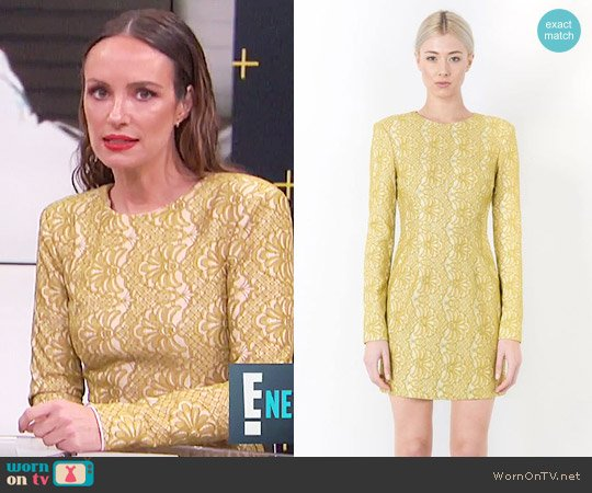Elliatt Delirium Mini Dress worn by Catt Sadler on E! News