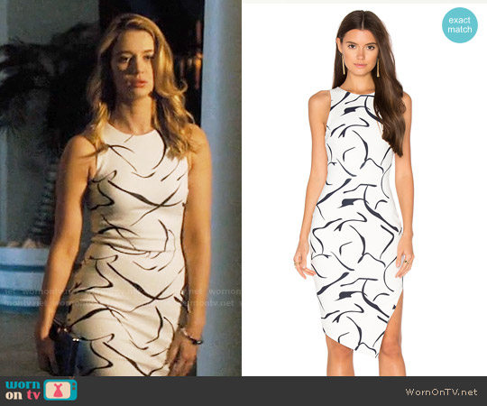 Elliatt Dusk Dress worn by Yael Grobglas on Jane the Virgin