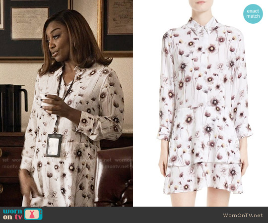 Equipment Natalia Dress worn by Daisy Grant (Patina Miller) on Madam Secretary