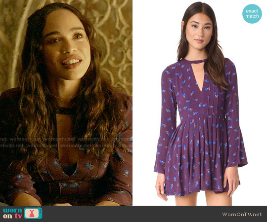 Free People Tegan Dress worn by Cleopatra Coleman on Last Man On Earth