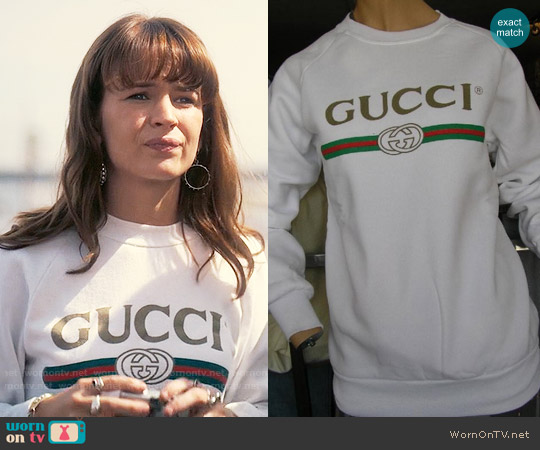 Gucci Vintage Sweatshirt worn by Britt Robertson on Girlboss