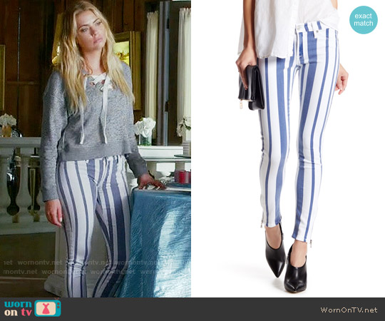 Hudson Krista Jeans in Steamer worn by Hanna Marin (Ashley Benson) on PLL