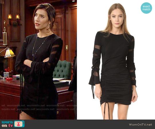 IRO Liya Dress worn by Steffy Forrester (Jacqueline MacInnes Wood) on The Bold & the Beautiful