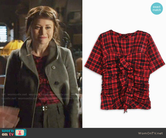 Etoile Isabel Marant Walt Top worn by Belle on OUAT