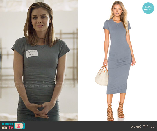 James Perse Classic Skinny Dress worn by Christine Evangelista on The Arrangement