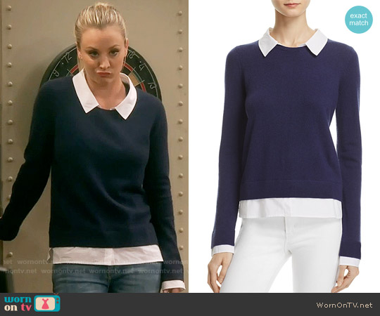 Joie Rika Sweater worn by Kaley Cuoco on The Big Bang Theory