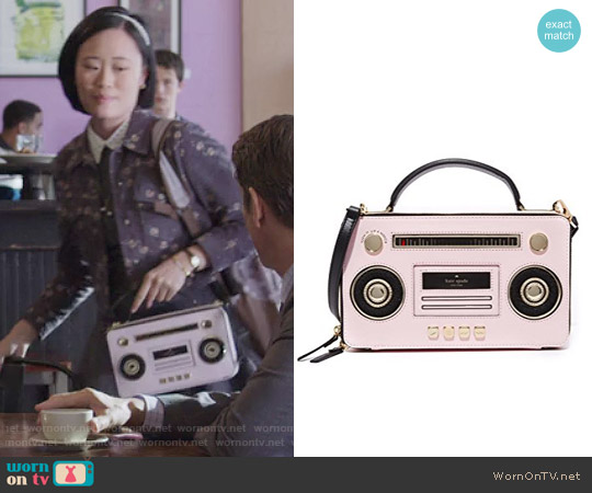 Kate Spade Boombox Satchel worn by Courtney Crimsen on 13 Reasons Why