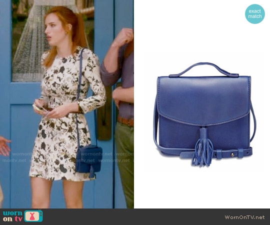 Lucky Brand Riley Crossbody worn by Bella Thorne on Famous in Love