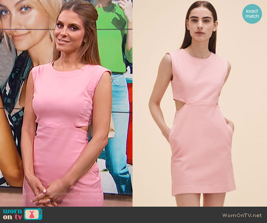 Maje Roussia Dress worn by Maria Menounos  on E! News