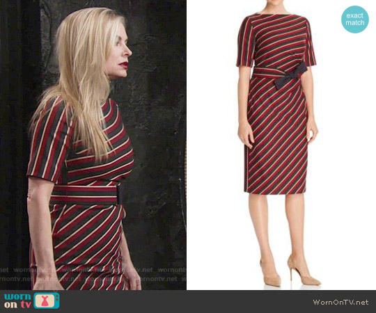 Weekend Max Mara Palato Dress worn by Eileen Davidson on The Young & the Restless
