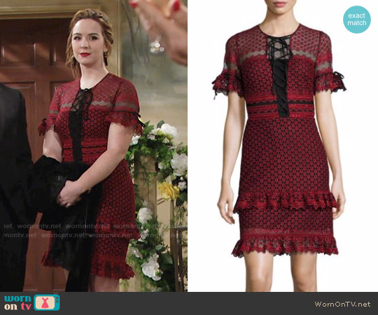 Parker Emilia Dress worn by Camryn Grimes on The Young & the Restless