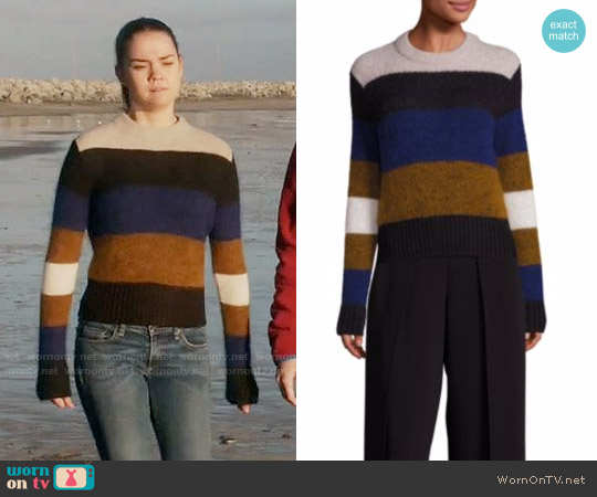 Rag & Bone Britton Sweater worn by Callie Jacob (Maia Mitchell) on The Fosters