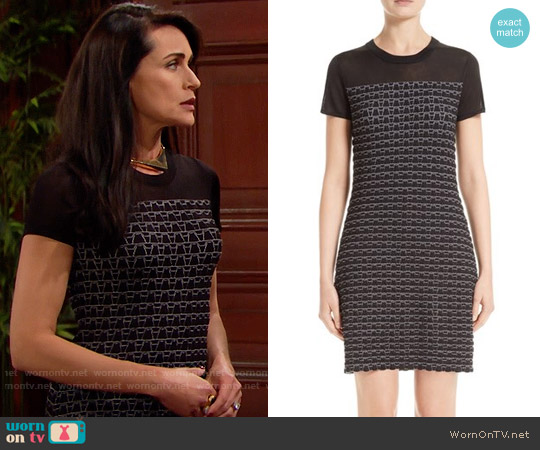 Rag & Bone Gwen Dress worn by Quinn Fuller on The Bold & the Beautiful