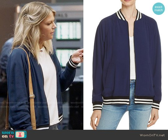 Rebecca Minkoff Infinity Bomber Jacket worn by Mackenzie Murphy (Kaitlin Olson) on The Mick