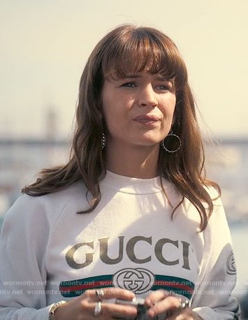 Sophia's Gucci sweatshirt on Girlboss