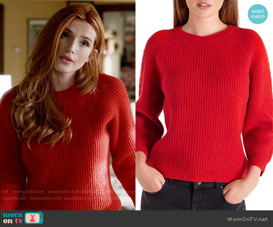Ted Baker Odeda Sweater worn by Paige Townsen (Bella Thorne) on Famous in Love