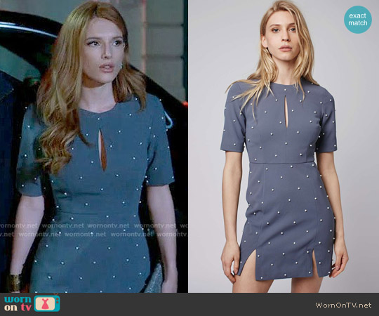 Topshop Pearl A-Line Dress worn by Paige Townsen on Famous in Love