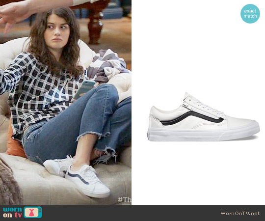 Vans Old Skool Sneakers worn by Sabrina Pemberton on The Mick