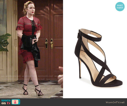 Imagine by Vince Camuto Devin Sandal worn by Mariah Copeland on The Young & the Restless