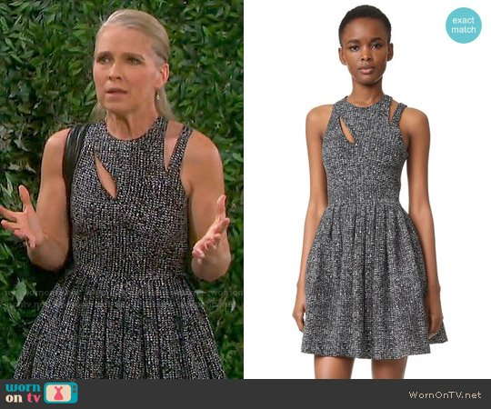 Cinq a Sept Pandora Dress worn by Melissa Reeves on Days of our Lives