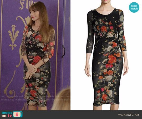 Fuzzi Farfalla Dress worn by Sofia Vergara on Modern Family
