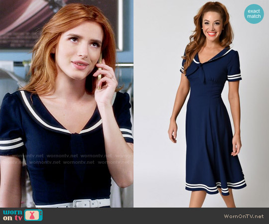 Hell Bunny Ambleside Dress worn by Paige Townsen (Bella Thorne) on Famous in Love