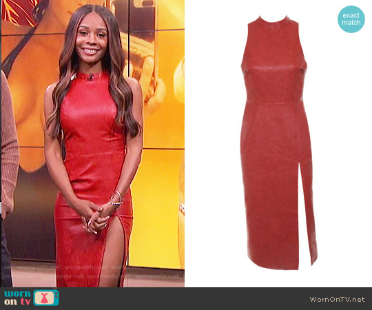 House of CB Sanem Dress worn by Zuri Hall  on E! News