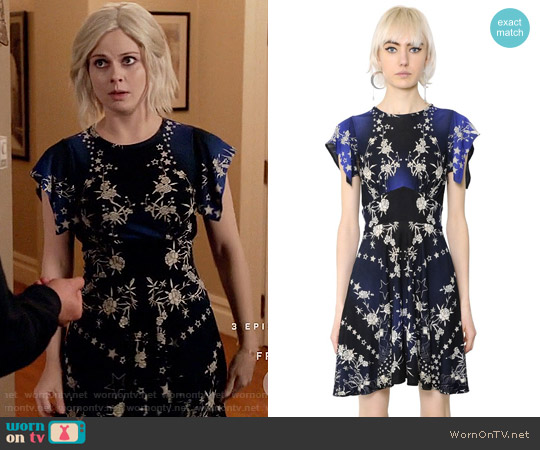 Roberto Cavalli Pretty Thing Dress worn by Liv Moore (Rose McIver) on iZombie