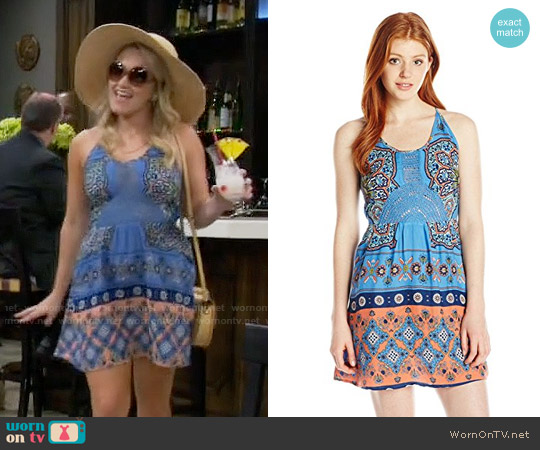 Roxy Dance To The Beat Dress worn by Emily Osment on Young & Hungry