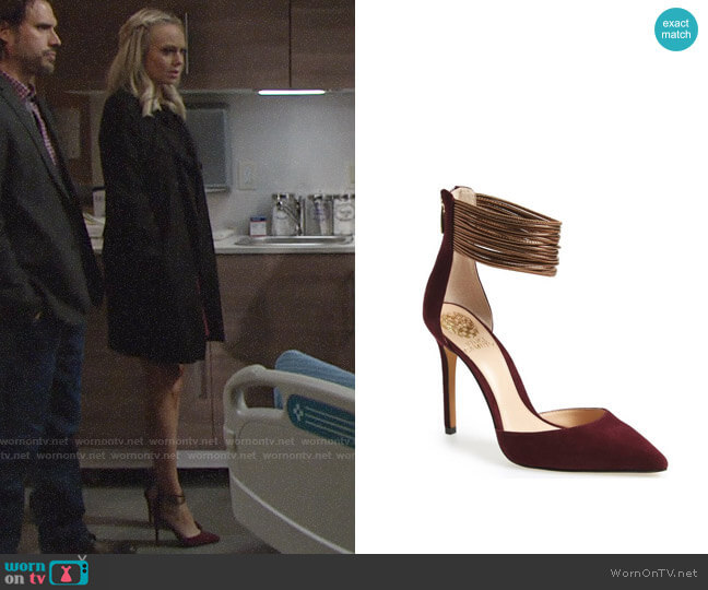 Vince Camuto Nayz Pump worn by Melissa Ordway on The Young & the Restless
