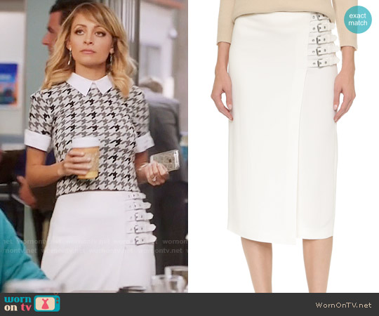 ALC Clint Skirt worn by Portia Scott-Griffith on Great News