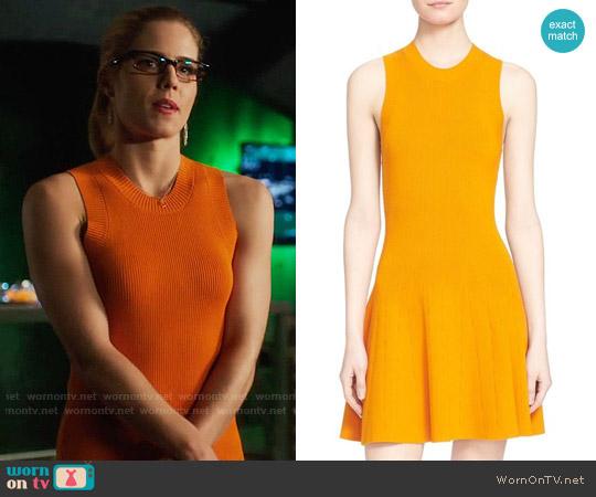 ALC Rory Dress worn by Emily Bett Rickards on Arrow