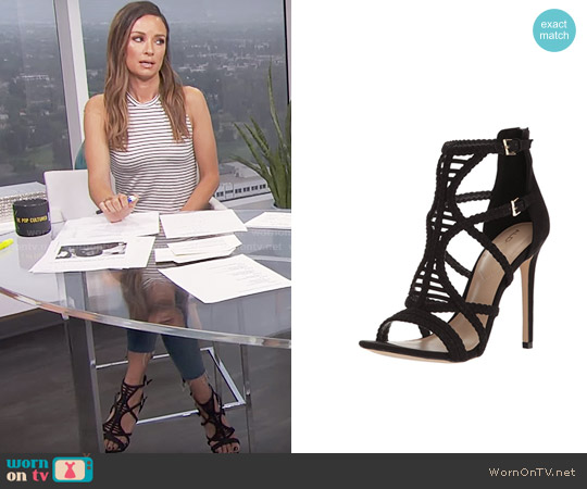 Aldo Sinfony Sandal worn by Catt Sadler on E! News