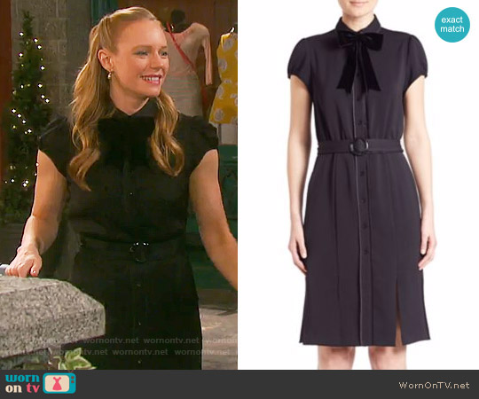 Alice + Olivia Carie Dress worn by Abigail Deveraux (Kate Mansi) on Days of our Lives