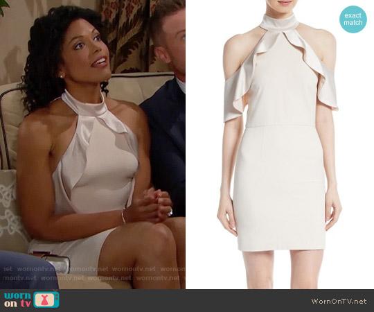 Alice + Olivia Ebony Dress worn by Maya Avant (Karla Mosley) on The Bold & the Beautiful