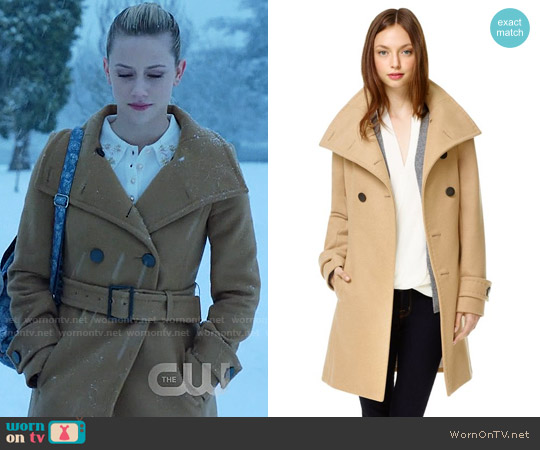 Babaton Bromley Coat worn by Lili Reinhart on Riverdale