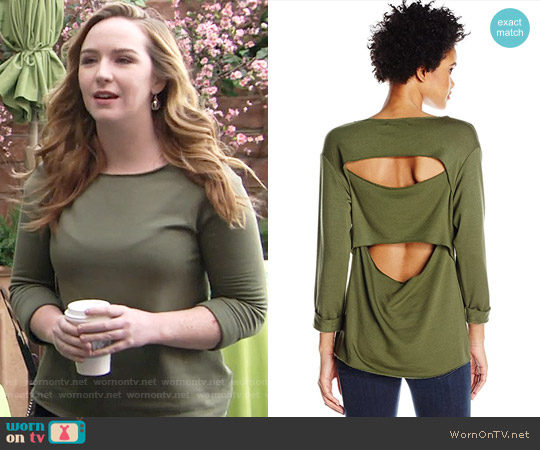 Bailey 44 Sombreros Sweatshirt worn by Mariah Copeland (Camryn Grimes) on The Young & the Restless