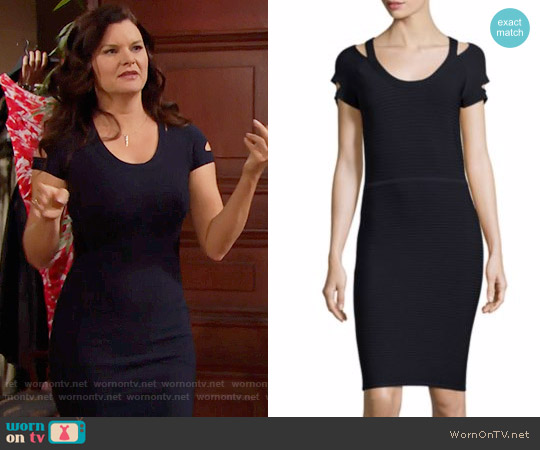 Bailey 44 Deck Sweater Dress worn by Katie Logan (Heather Tom) on The Bold & the Beautiful
