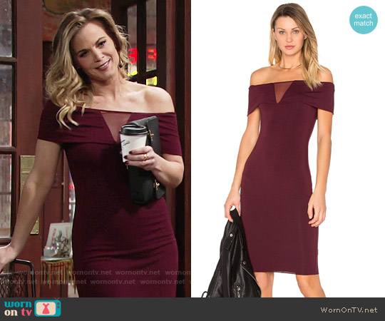 Bailey 44 Esther Dress worn by Gina Tognoni on The Young & the Restless