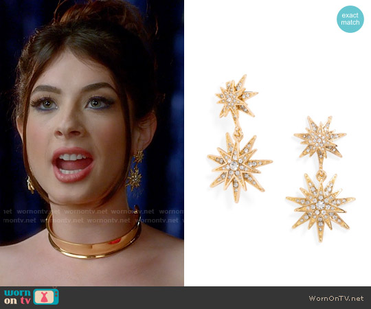 Baublebar Celestial Drops worn by Niki Koss on Famous in Love