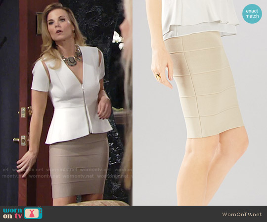 Bcbgmaxazria Alexa Sweater Skirt worn by Phyllis Newman on The Young & the Restless