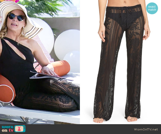 Becca Lace Cover-Up Pants worn by Phyllis Newman on The Young & the Restless