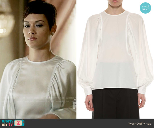 Celine Light Cotton Shirt worn by Anika Calhoun (Grace Gealey) on Empire