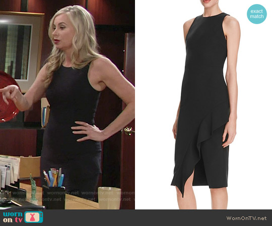 Cinq a Sept Piper Dress worn by Eileen Davidson on The Young & the Restless