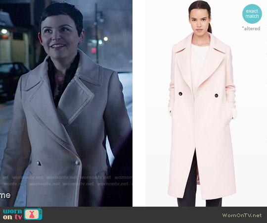 Club Monaco Daylina Coat worn by Ginnifer Goodwin on OUAT