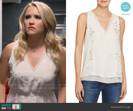 Cooper & Ella Harper Top worn by Emily Osment on Young & Hungry