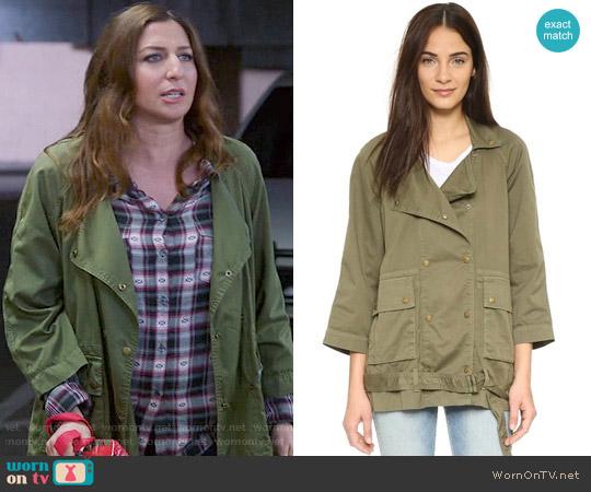 Current/Elliott The Infantry Jacket worn by Gina Linetti on Brooklyn Nine-Nine