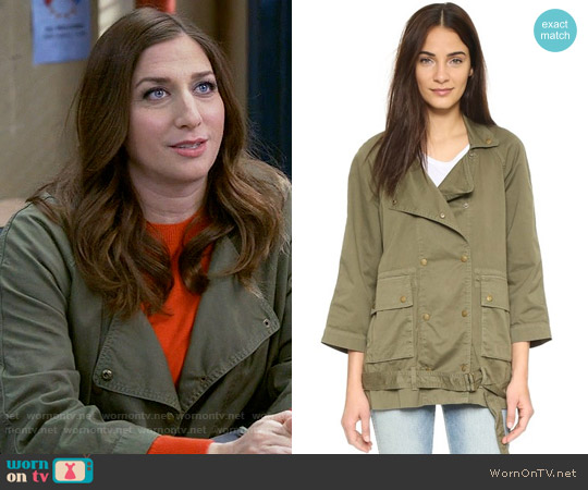 Current Elliott Infantry Jacket worn by Gina Linetti (Chelsea Peretti) on Brooklyn Nine-Nine